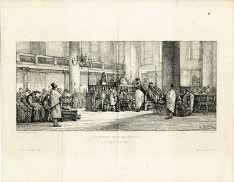 Interior, Portuguese Synagogue in Amsterdam