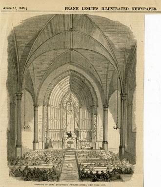Interior, Congregation Emanu-El, New York