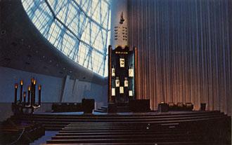 Sanctuary of Congregation B'nai Jehudah, Kansas City