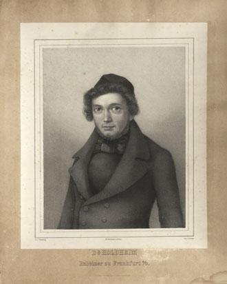 Portrait of Rabbi Samuel Holdheim