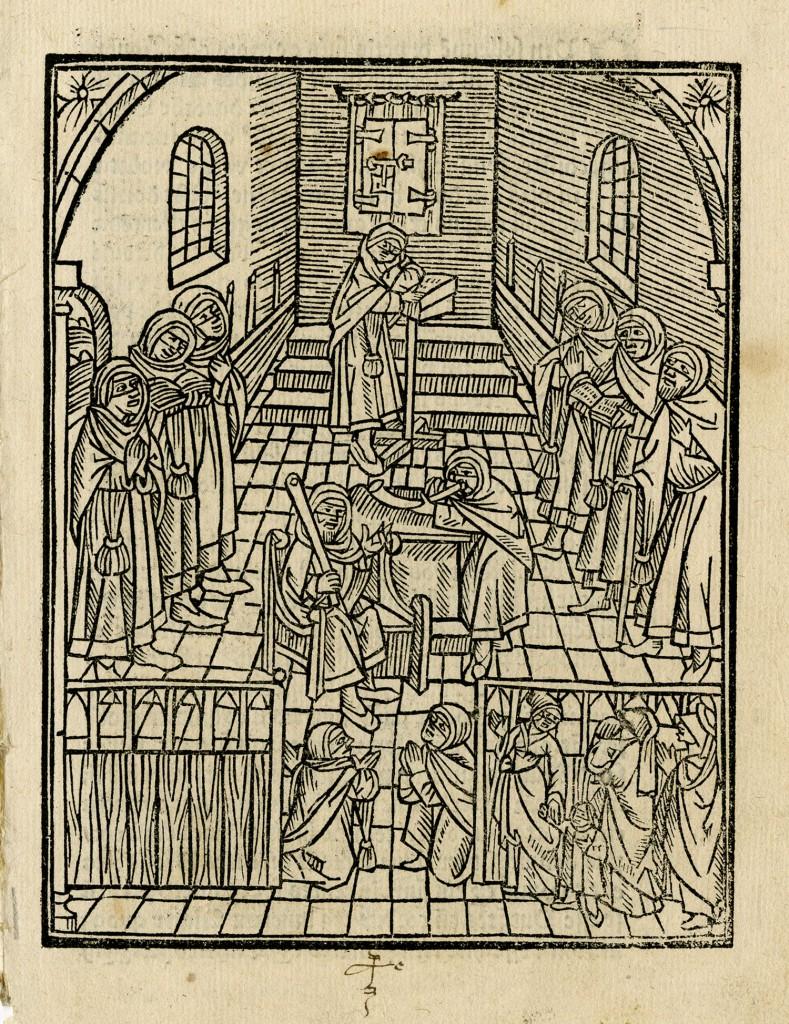 Early German print shows Rosh Hashanah liturgy